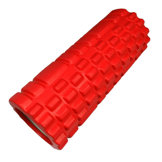 Fitness Roller Black Yoga Foam