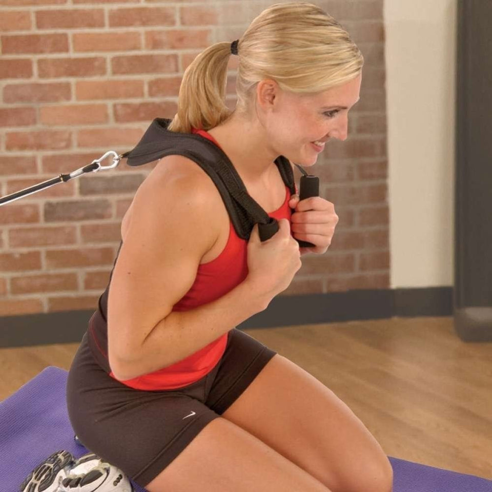 Fitness Abdominal Crunch Straps Ab Exercise