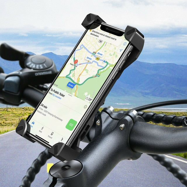 360 Degree Universal Motorcycle Bicycle phone Clip Stand