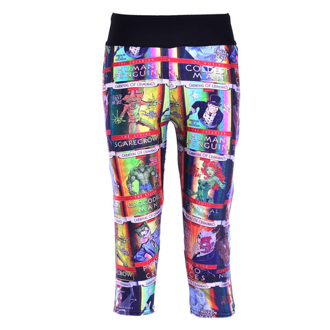 Batman Comic Capris
