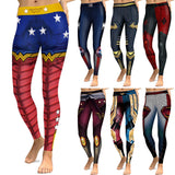 Comic Book Super Hero Leggings