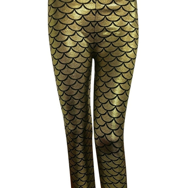 Mermaid Fish Scale Leggings