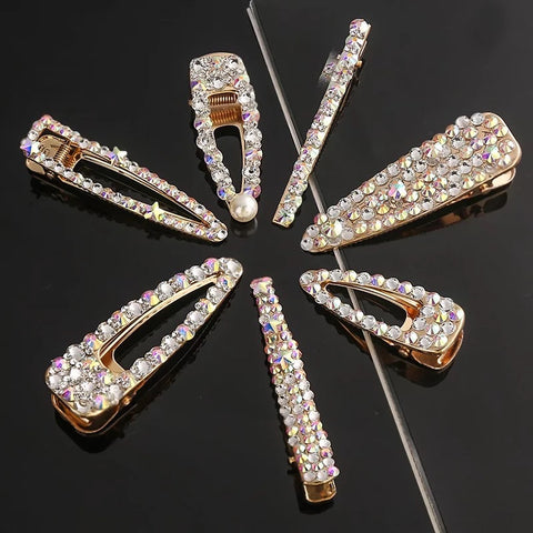 Jaelea cosmetics bling hair clips 6 styles