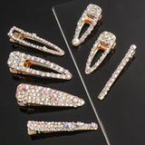 Style 2 Set of two rhinestone bling hair clips