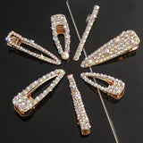 Style 4 Set of 2 Rhinestone bling hair clips