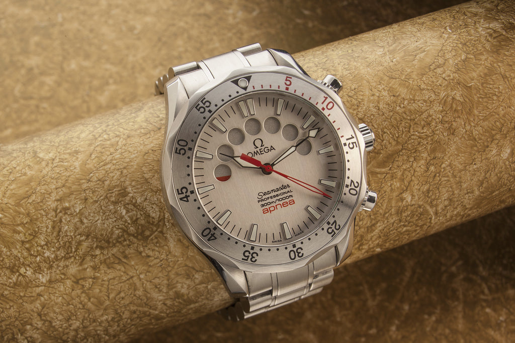 Omega Apnea divers watch SOLD – The Watch Collector