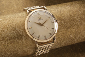 Omega Cal 351 solid gold Denison