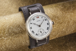 Asprey oversize Officers Trench Watch SOLD