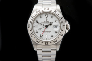 Rolex Explorer 11 Polar box and papers