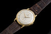 Omega 18ct gold vintage automatic dress watch
