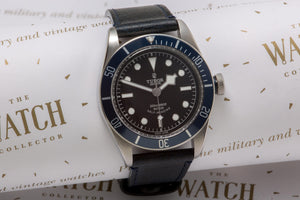 Tudor Heritage Black Bay Blue SOLd