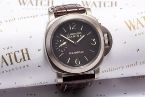 Panerai Luminor Marina Titanium SOLD