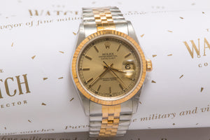 Rolex Datejust 16233 sold