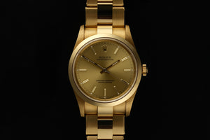 Rolex Oyster Perpetual 14208M 18ct gold