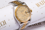 Rolex Gents Diamond Dial With Papers