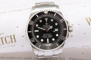 Rolex Sea Dweller Deepsea 116660 with box and papers