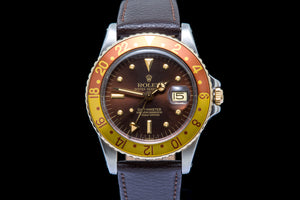 Rolex GMT Master Root Beer nipple dial