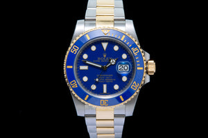 Rolex Submariner 18ct gold and stainless steel