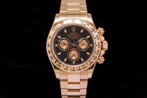 Rolex Daytona 18k Rose gold ref 16505