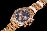 Rolex Daytona 18k Rose gold ref 16505 sold