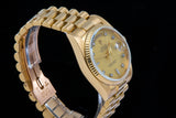 Rolex Day date 18ct gold with factory diamond dial RESERVED