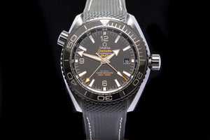 "Omega Planet Ocean ""Deep Black"" GMT"