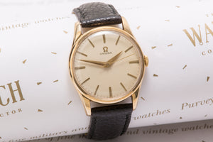 Omega Cal 286  9 ct Gold Denison case