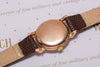 Helvetia solid Gold vintage dress watch