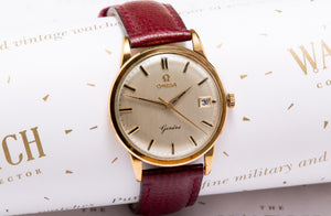 Omega geneve 9 ct solid gold