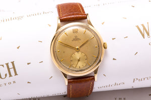 Omega Solid gold denison case bumper