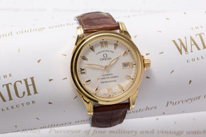 Omega Coaxial chronometer 18ct Gold SOLD