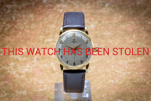 Omega Automatic - THIS WATCH HAS BEEN STOLEN