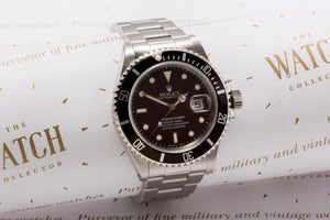 Rolex submariner 16610 unworn SOLD