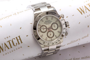 Rolex Daytona P Series Creamdial SOLD