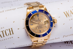 Rolex Submariner 18ct Gold SOLD