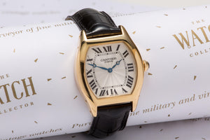 Cartier Tortue 18ct  Gold