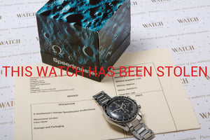 Omega Speedmaster Professional - THIS WATCH HAS BEEN STOLEN