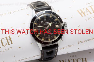 Camy 200m vintage divers watch
