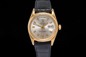 Rolex Day Date ref 1811 solid 18k gold