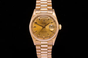 Rolex Vintage Day Date ref 1803 in solid 18ct Rose Gold