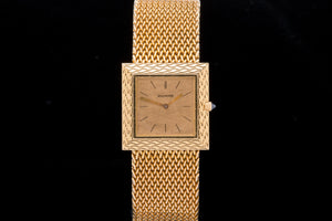 Boucheron ultra thin 18ct Rose gold dress watch