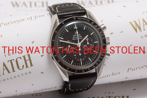 Omega Speedmaster Moon watch c 1971 - THIS WATCH HAS BEEN STOLEN
