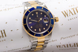 Rolex Submariner 16613 18ct gold and stainless steel sold