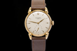 Patek Philippe 18 ct gold vintage gent dress watch.