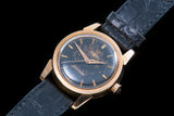 Omega Seamaster Rose gold with black gilt starburst dial