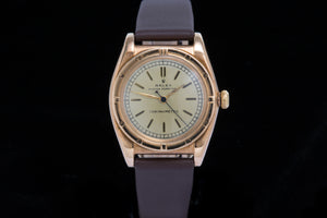 Rolex ref 3372 Bubble Back 14ct Rose Gold