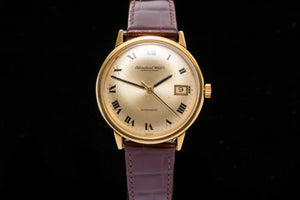 IWC Gents 18ct Gold Dress watch - SOLD