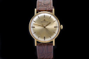 Jaeger-LeCoultre vintage 18ct gold dress watch