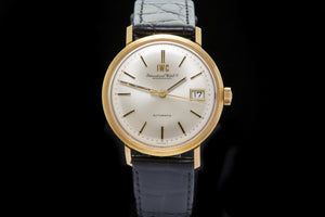 IWC 18ct gold gents vintage dress watch