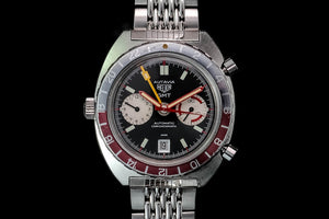 Heuer Autavia 1163 GMT box and papers
